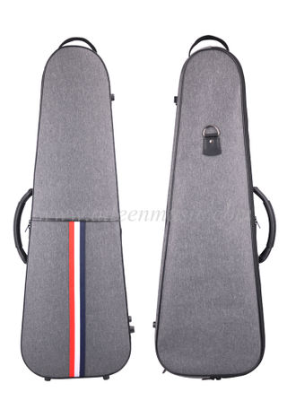 Gris OEM al por mayor 4 / 4-1 / 4 calidad Oxford Violin Case (CSV502B1)