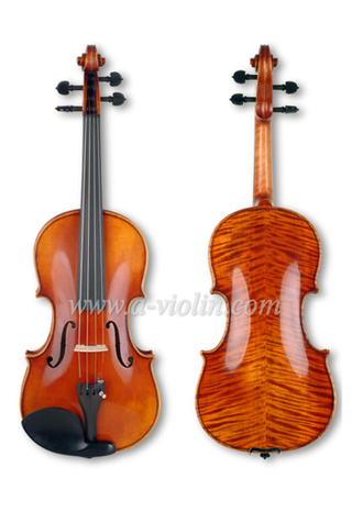 4/4 Master Violin, Old Antique Hand made Violin Conservatorio (VH600E)